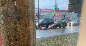 "В Барнауле на ""зебре"" сбили пешехода."