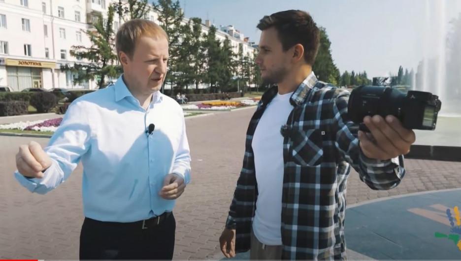 Виктор Томенко рассказывает о знаковых местах в Алтайском крае.