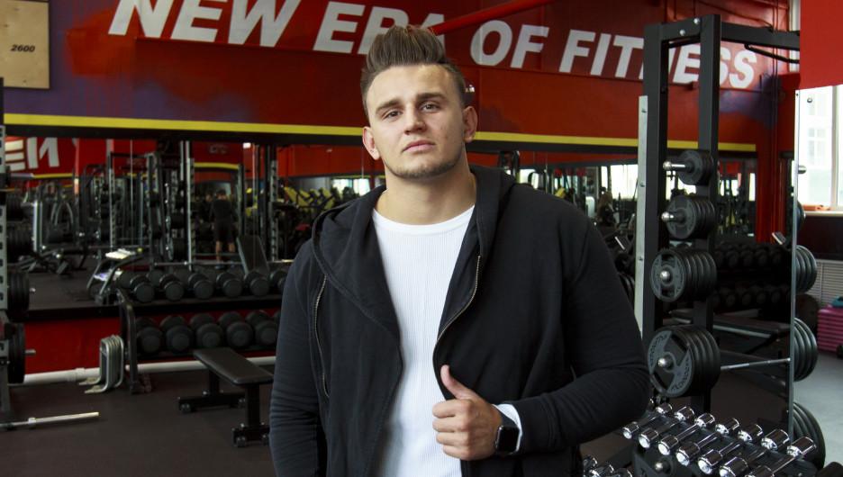 "Эдуард Шаркань, управляющий фитнес-клубом ""К-2 Спорт""."