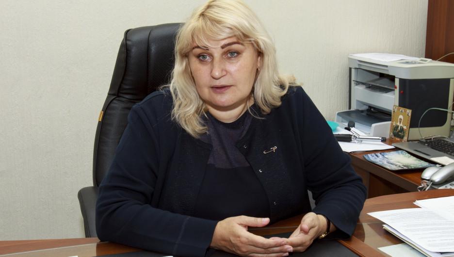 Юлия Галкина, директор школы №53.