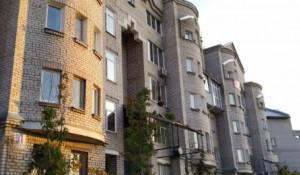 Элитный дом, где находится уникальная квартира с баней.