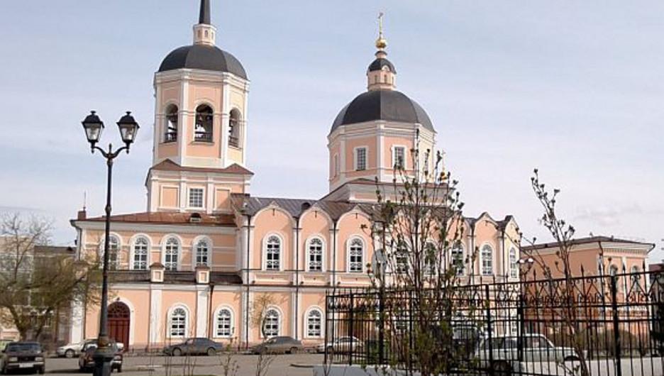 Богоявленский собор в Томске.