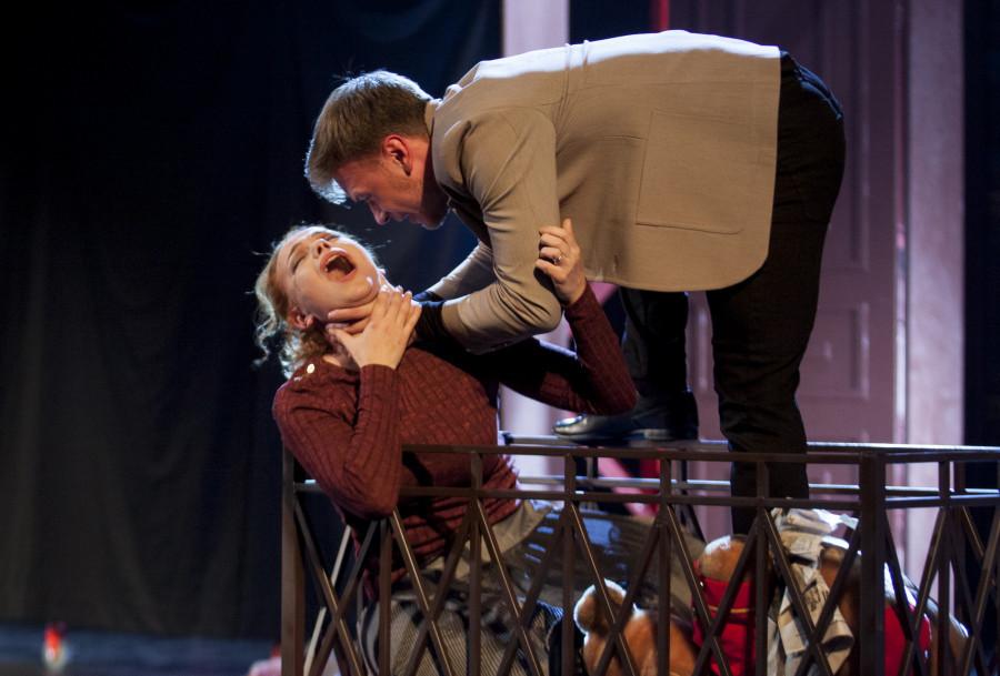 """""""Гамлет"""". Молодежный театр Алтая."""