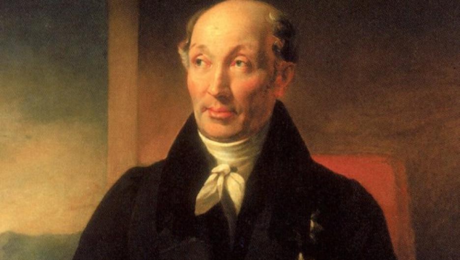 Портрет Михаила Сперанского.