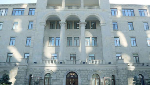 Минобороны Азербайджана.