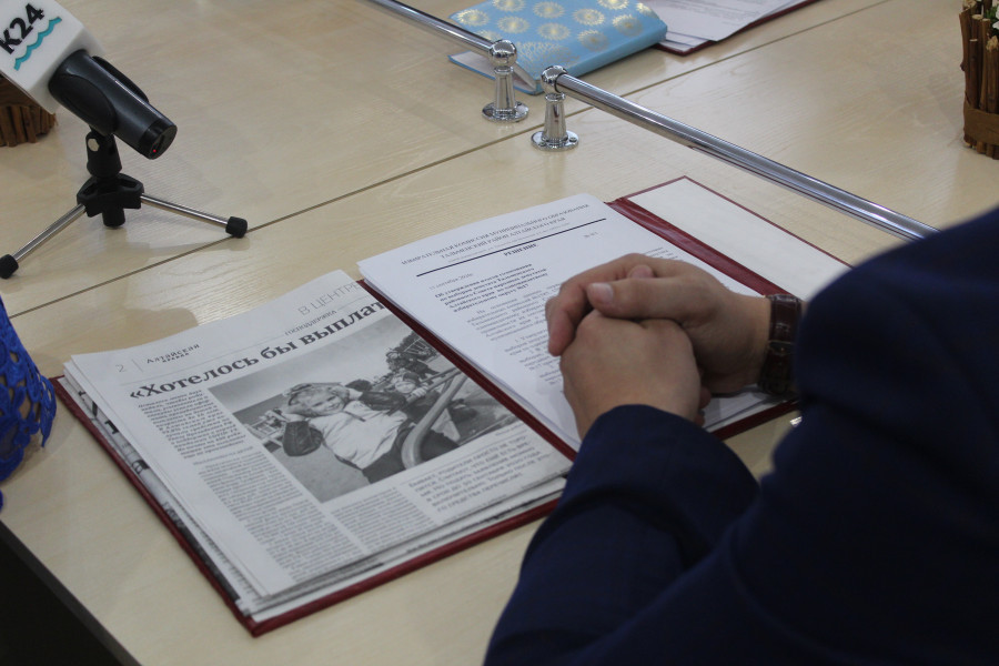 Рабочая поездка Игоря Степаненко по Тальменскому району.