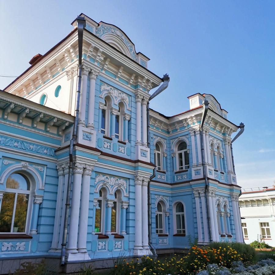 Усадьба купца Карим-бая Хамитова в Томске.