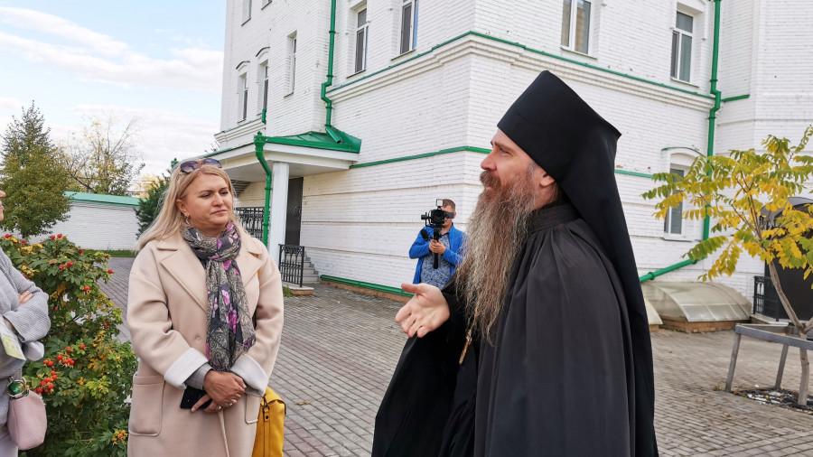 Богородице-Алексиевский мужской монастырь в Томске.