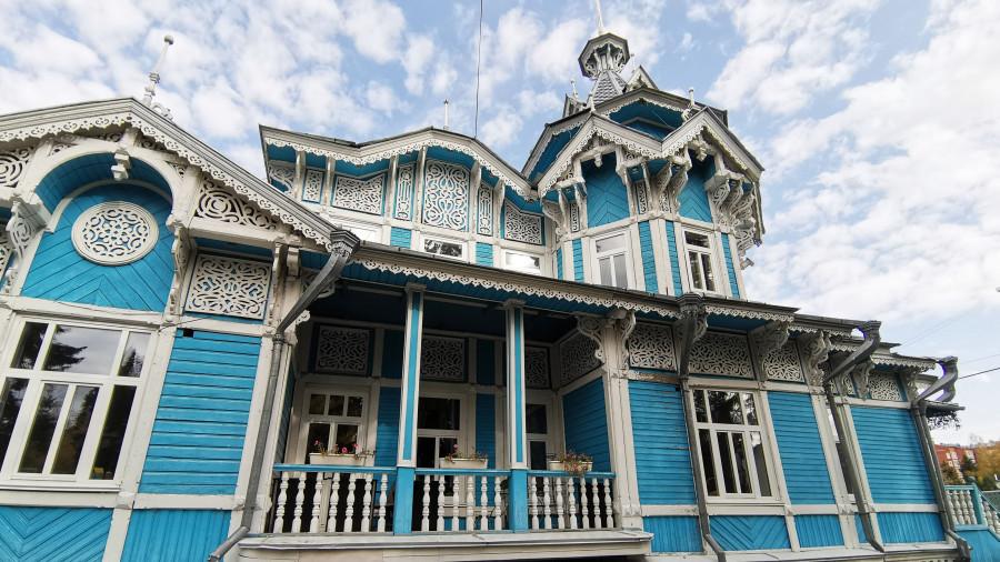 Российско-немецкий дом в Томске.