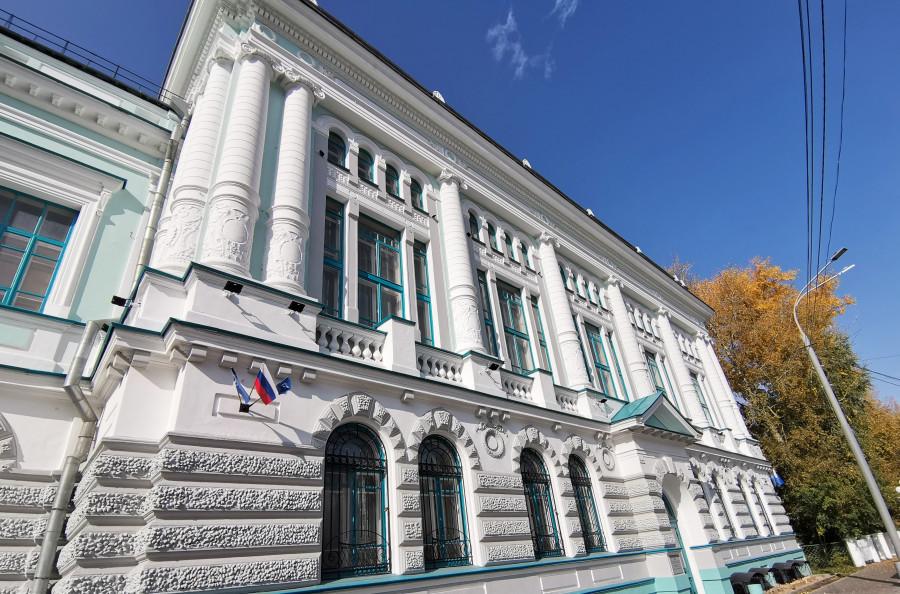 Библиотека ТГУ.