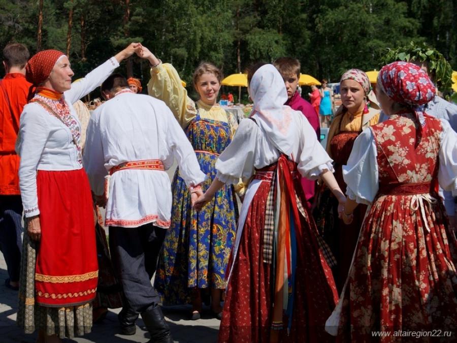 День России на Бирюзовой Катуни. 2016 год.