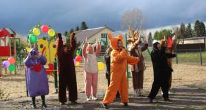 Открытие детских площадок в Тальменском районе