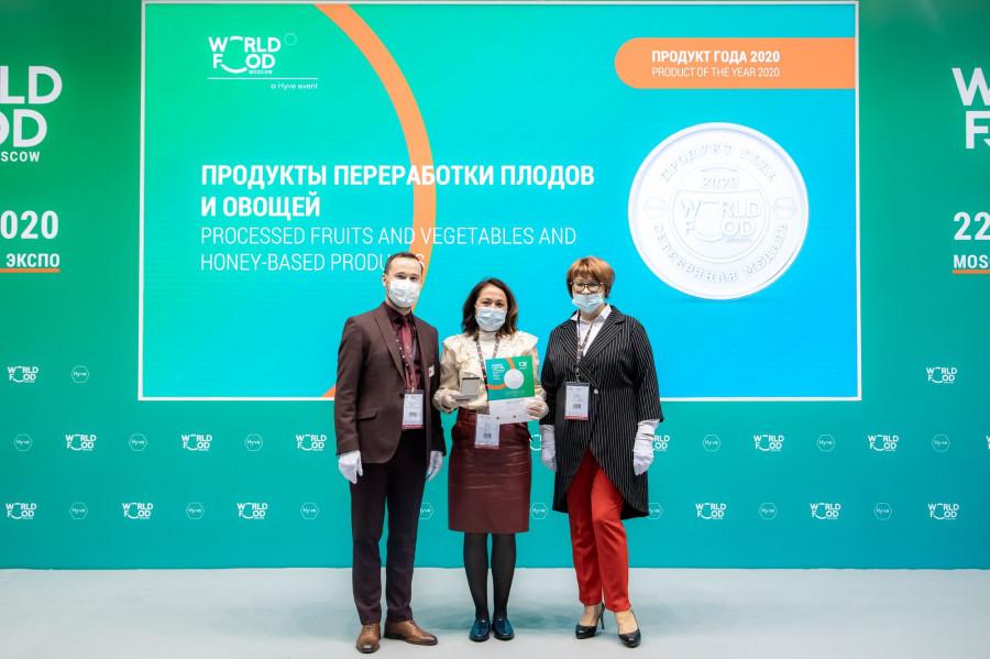 Международная выставка World Food 2020 в Москве.