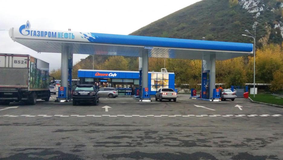 В Горно-Алтайске открылась первая АЗС сети «Газпромнефть».