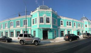 Дом купца Морозова в Барнауле.