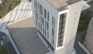 Проект мультифункционального центра на площади Жукова.