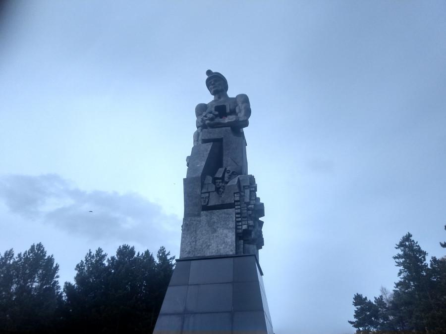 «Памяти шахтерам Кузбасса».