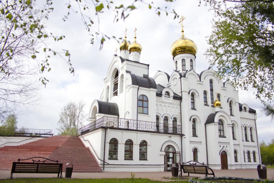 Храм Святой Троицы в Кемерово.