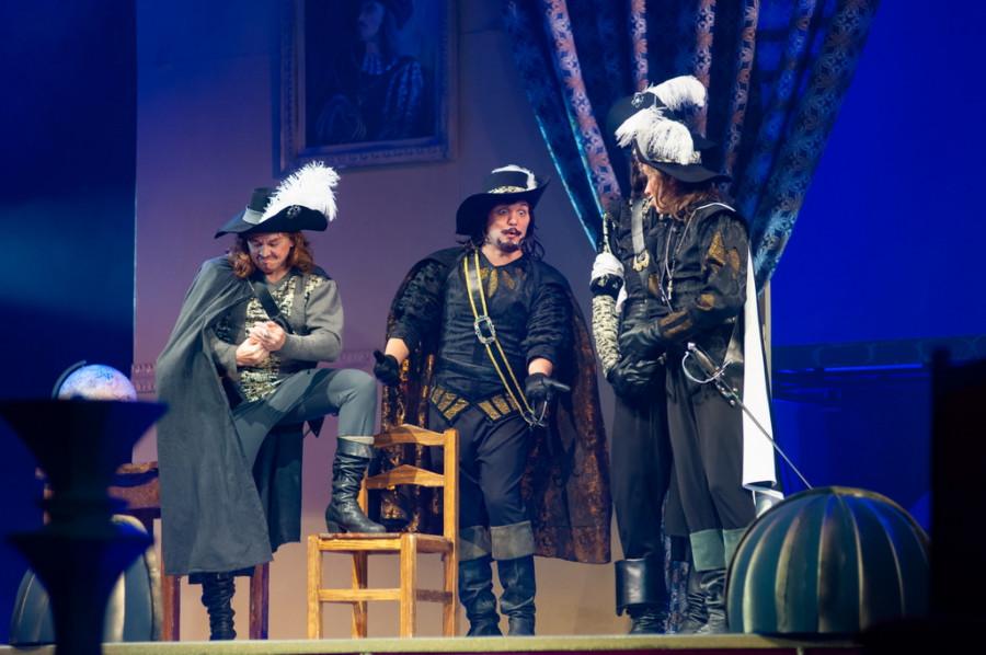 """""""Три мушкетера"""" в Музыкальном театре."""