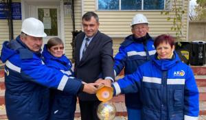 Ветераны предприятия зажгли факел в г. Славгороде