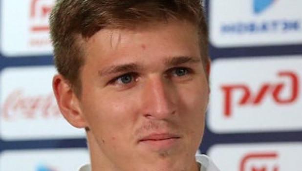 Футболист Александр Соболев.