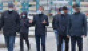 Вячеслав Франк проверил строительство сквера.