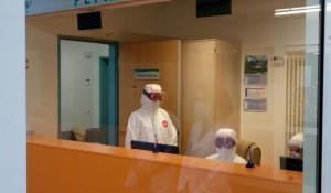 Медики коронавирусного госпиталя.