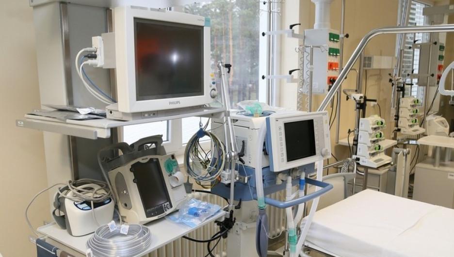 Ковидный госпиталь в Алтайском крае. Коронавирус.