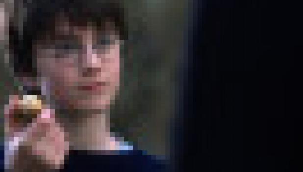 Кадр из первого фильма о Гарри Поттере