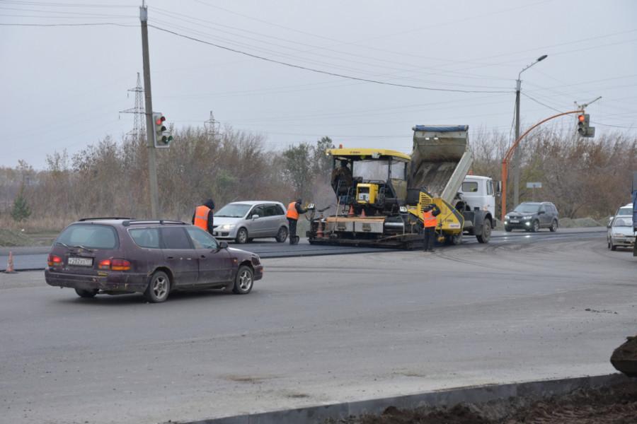 Ремонт Павловского тракта в Барнауле.