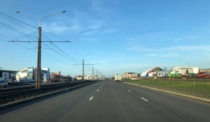 Движение открыли на улице Попова.