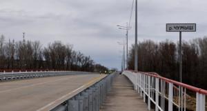 Новый мост через Чумыш в Кытмановском районе.
