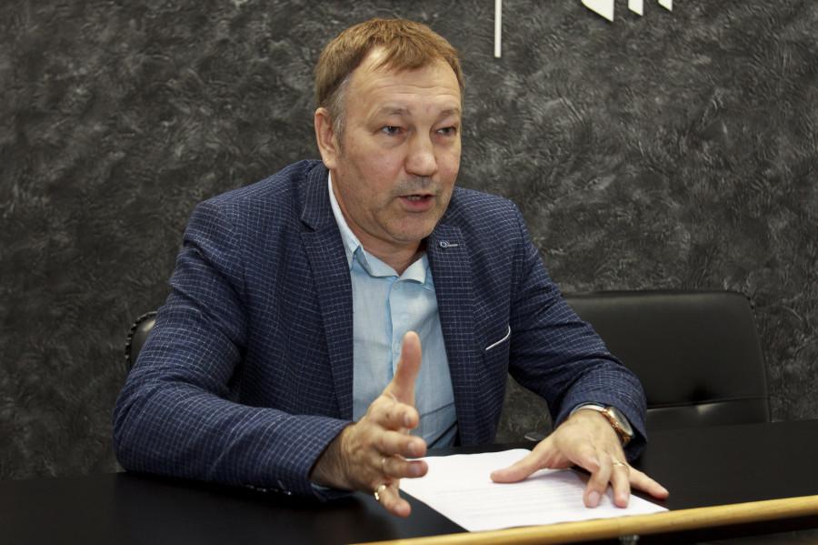 Андрей Плешаков, директор транспортной компании «РТК Алтай».