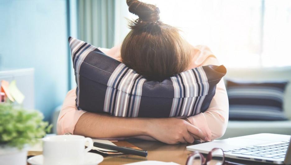 Стресс и раздражительность.