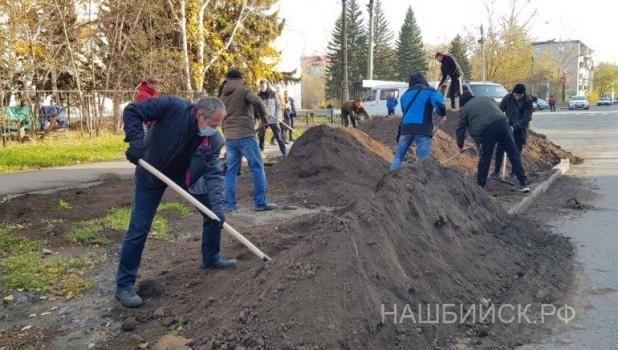 Алтайский мэр после выздоровления от ковида отправился копать газон