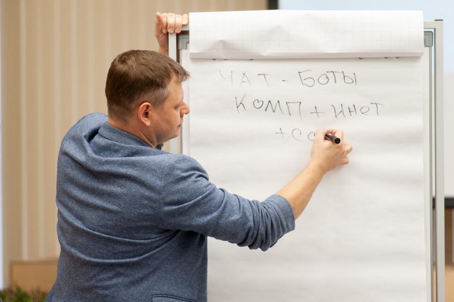 Денис Матис, тренер на «Фабрике бизнес-идей».