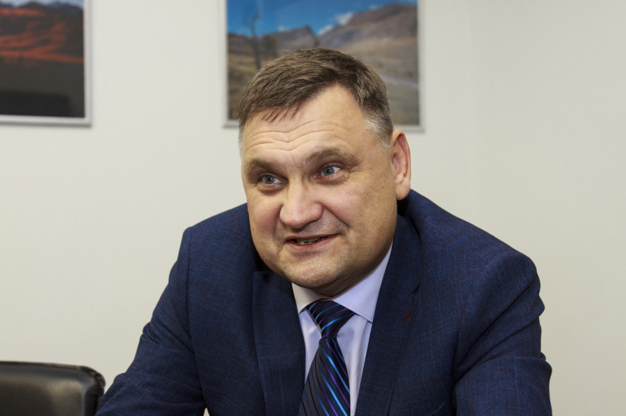 Ректор АлтГТУ Андрей Марков.