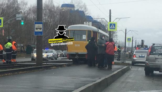 Смертельное ДТП с трамваем.
