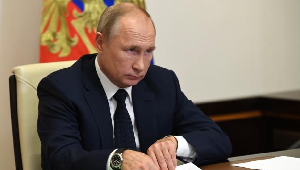 Путин предложил Байдену продолжить диалог в прямом эфире