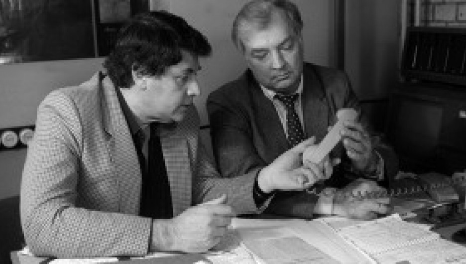 Александр Ширвиндт и Михаил Державин.