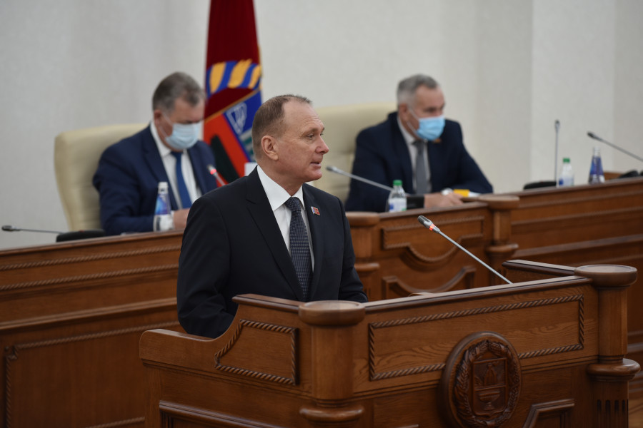 Сессия АКЗС 29 октября 2020 года. Владимир Устинов.