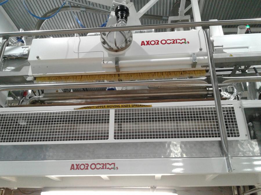 Новая производственная линия на макаронной фабрике.