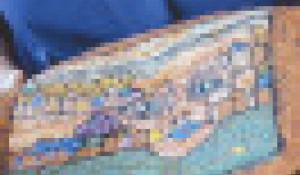 Коллекция одежды из войлока от начинающих модельеров из Крутихинского района.