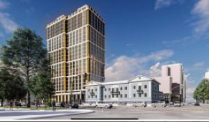 Эскиз жилого комплекса на пр. Красноармейский.