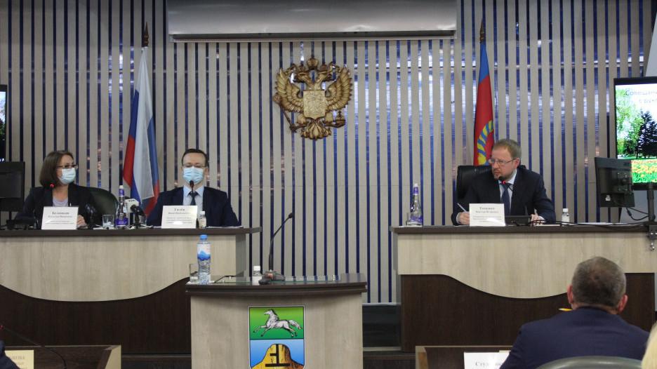 Рабочая поездка Виктора Томенко в Бийск.