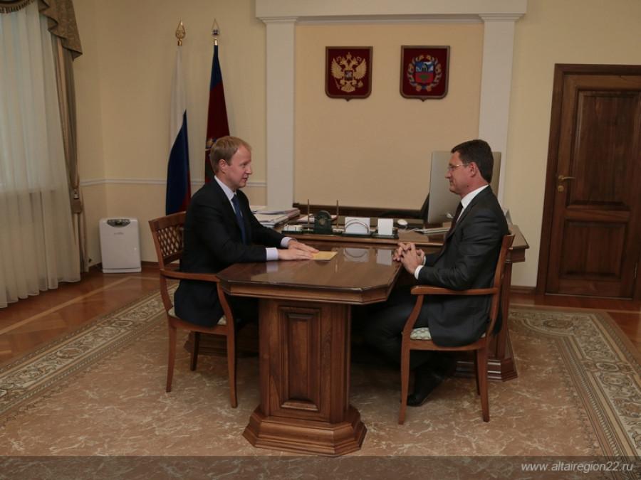 Виктор Томенко и Александр Новак.