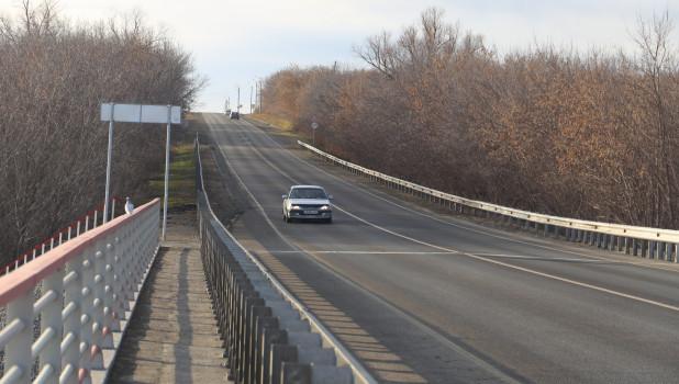 Отремонтированный мост.