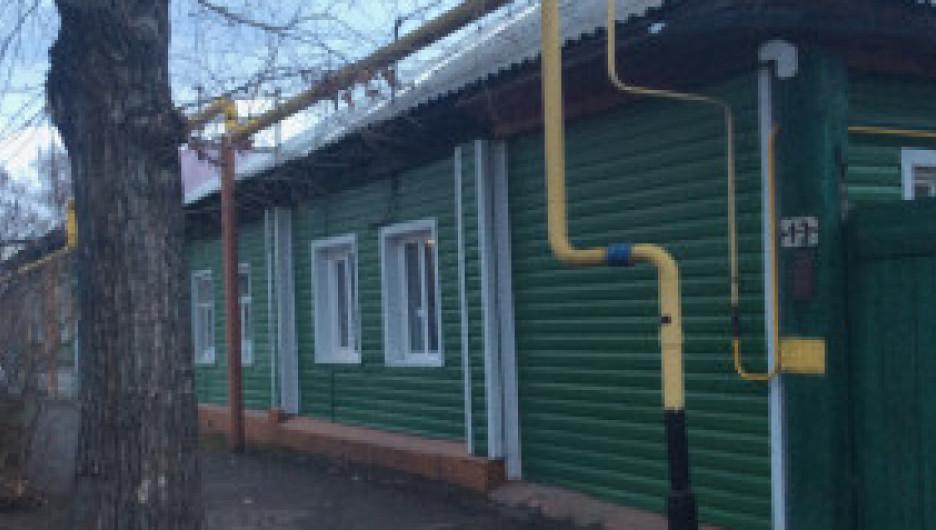 Барнаул, частный сектор улицы Партизанской.