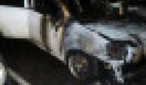 Поджог автомобиля в Барнауле.