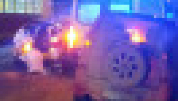 Авария на ул. Челюскинцев в Барнауле.